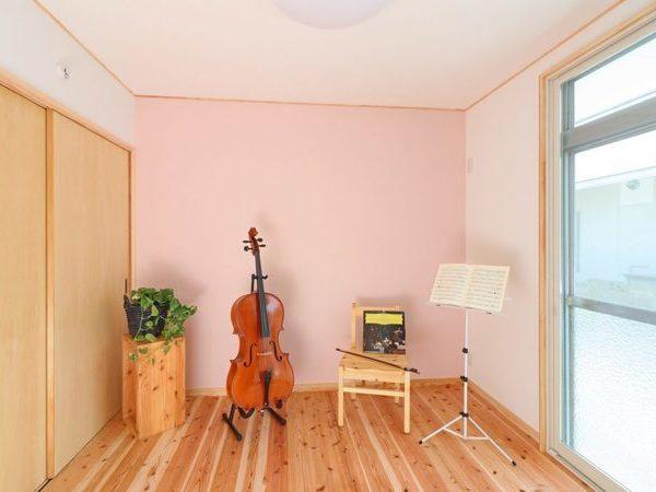 音楽室のある家