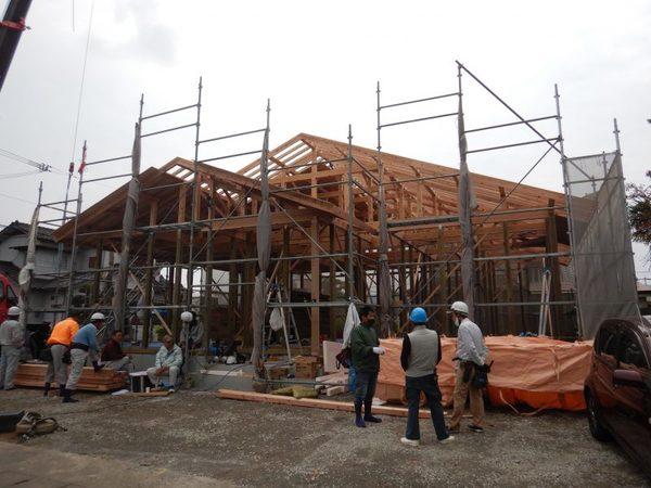 遠賀郡遠賀町にて「平屋の構造見学会」を開催!