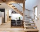 タイコ梁が見守る木の家の画像3