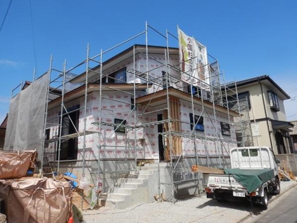 戸畑区福柳木にて「木の家構造見学会」を開催